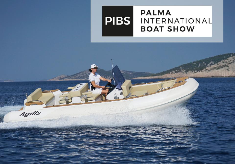 Agilis at Palma Boat Show 2021